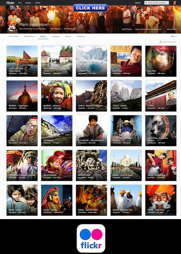 ++ Click for the complete Flickr photo archive which encloses 53 sets with 9.500 travel images ++