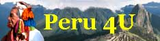 Peru tour operating specialist Peru4U helps individuals, couples and groups to enjoy their Peru vacation and organizes their travel to Peru. Tailor made Peru tours at prices comparable to standard. Peru information.
