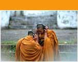 Heimelijke geneugten in een klooster van Luang Prabang - ©Hans Hendriksen
