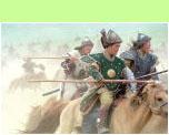 Chinggis Khaan's Cavalry - ©Hans Hendriksen