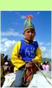 Naadam horse race jockey - ©Hans Hendriksen