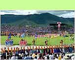 Naadam Opening Ceremony Ulaanbaatar - ©Hans Hendriksen