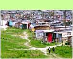 Khayelitsha Township bij Zuid-Afrika - �Hans Hendriksen